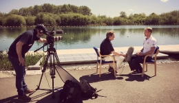 Rupert interviews Alex Gregory of the Men's Eight